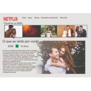 Quadro Presente Para Namorado(a) Personalizado Netflix