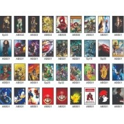 Quadros Decorativos Super Herois Kit De 5 Quadros 30x20cm