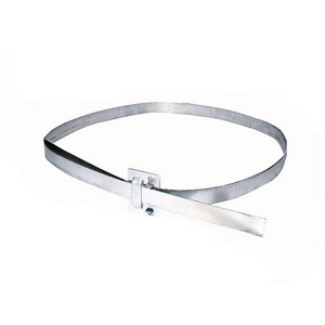 Abraçadeira Ajustavel | Aço | Para Postes - 40cm