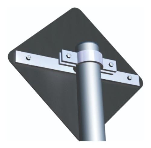 Abraçadeira Para Placa Viária | Poste Padrão - 40x5 cm