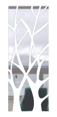 Espelho Acrílico Decorativo Dourado Galhos - 2,20m