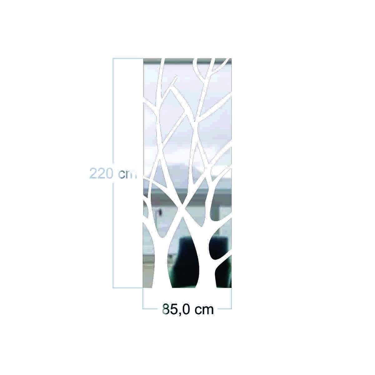 Espelho Decorativo - Galhos Vazados - 85x220