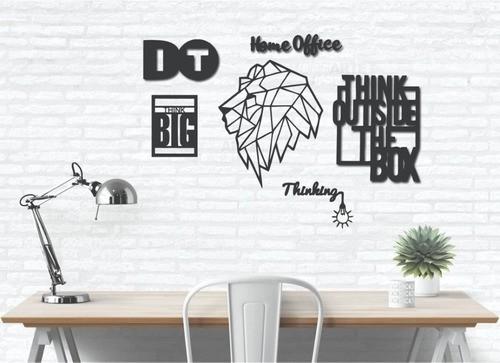 Kit 6 Quadros Decorativos Para Escritorio/sala /quarto
