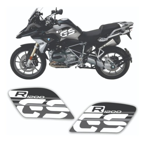 Kit Adesivo Lateral Tanque Bmw R1200gs