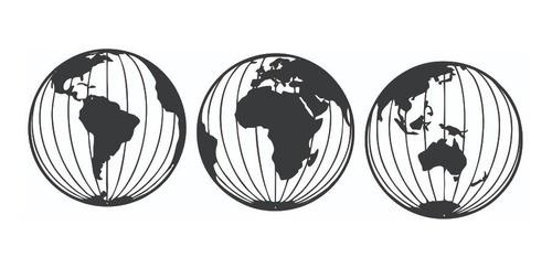 Kit Globo Decorativo Enfeite Para Casa / Escritório