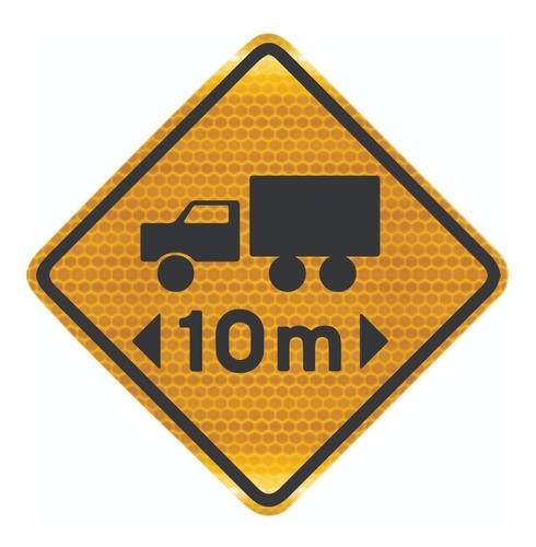 Placa De Comprimento Limitado Grau Técnico A-48 Grau Técnico I - 50x50cm