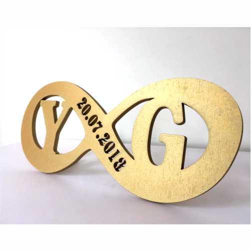 Placa de Mesa - Decorativo- Casal   Namorados - Personalizavel   Personalizado - 13x30cm