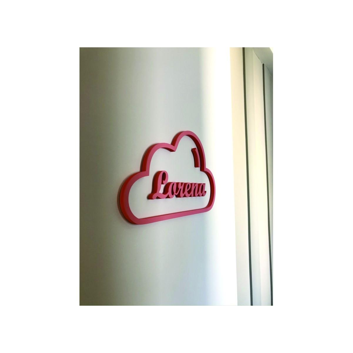 Placa Vasada Infantil - Nome - Personalizavel | Personalizado 40x20cm