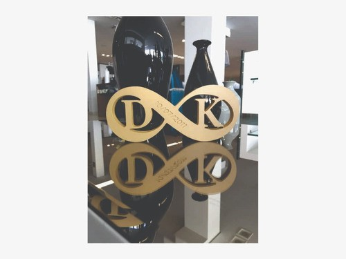 Placa de Mesa - Decorativo- Casal | Namorados - Personalizavel | Personalizado - 13x30cm