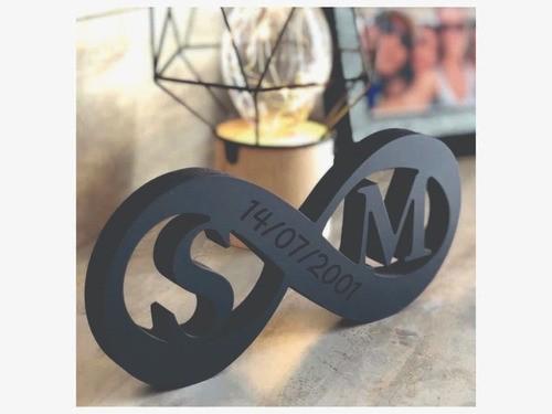 Placa de Mesa - Decorativo- Casal | Namorados - Personalizavel | Personalizado - 50x20cm