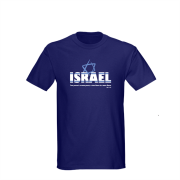 CAMISA ISRAEL - MODELO:NORMAL - COR:AZUL