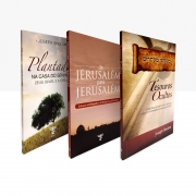 KIT Rav. Shulam - Tesouros Ocultos + De Jerusalém para Jerusalém + Plantados na casa do Senhor