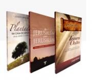 KIT Rav. Shulam |  Tesouros Ocultos + De Jerusalém para Jerusalém + Plantados na casa do Senhor