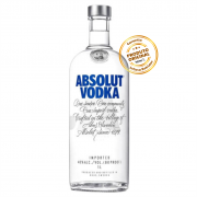 VODKA ABSOLUT REGULAR 1 LITRO