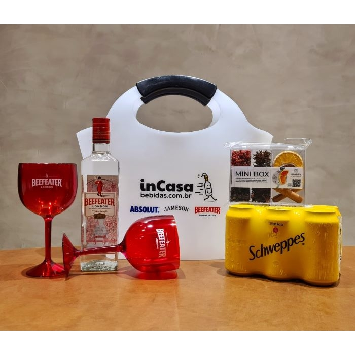 KIT DRINK GIN PERFEITO BEEFEATER