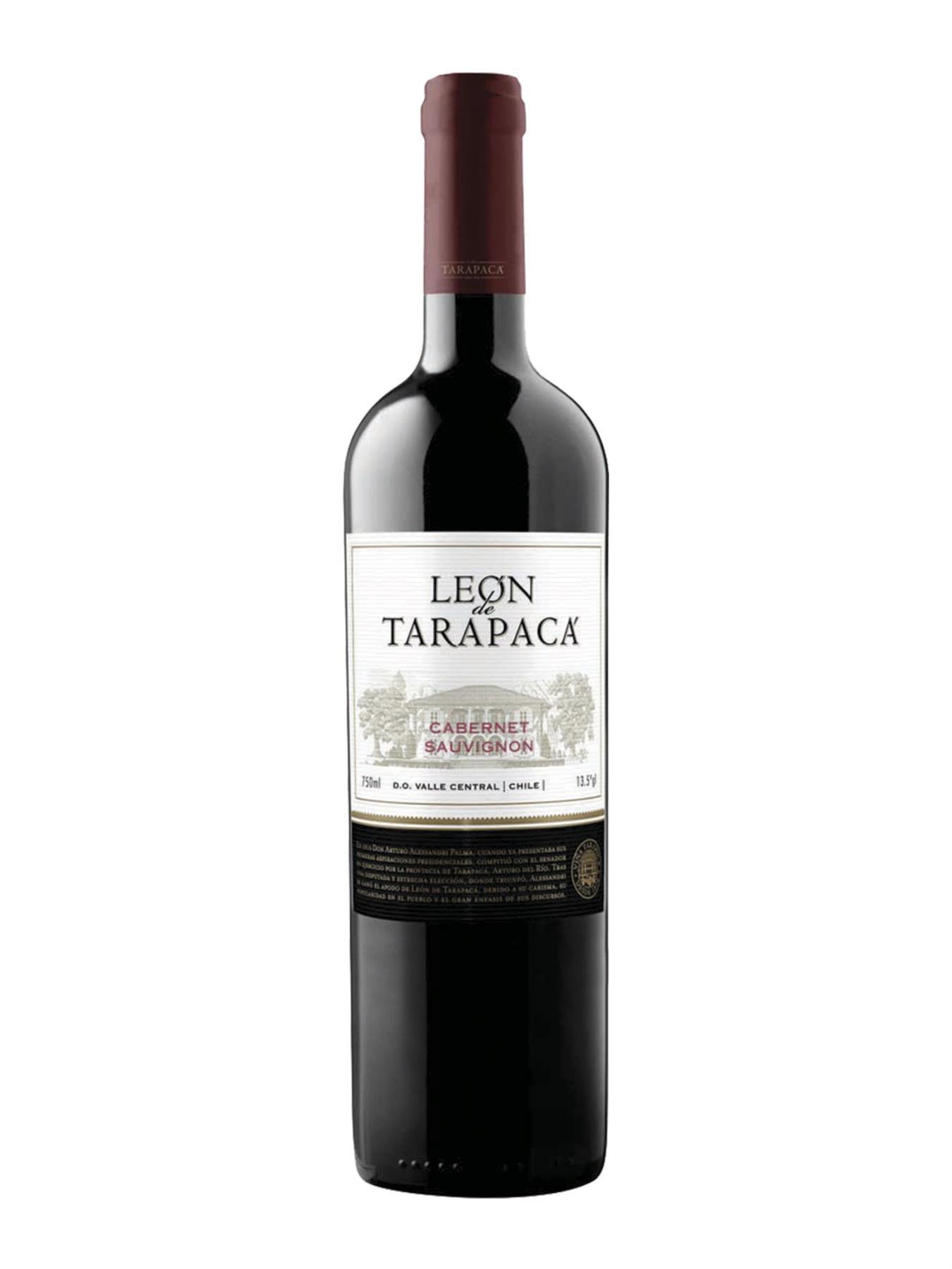 VINHO LEÓN DE TARAPACÁ CABERNET SAUVIGNON 750ML