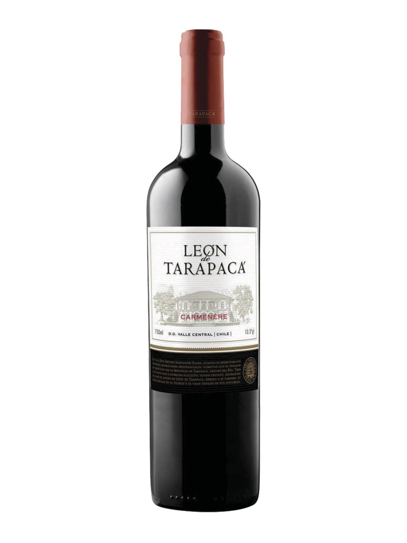 VINHO LEÓN DE TARAPACÁ CARMÉNÈRE 750ML
