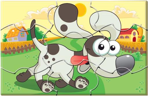 10 Quebra-Cabeças De Animais  - Em Madeira - Psicomotricidade