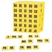 Alfabeto Silábico - Em Eva - 354 Peças - Alfabetização