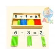 Caixa Matemática - Estimula O Estudo Das Operações Matemáticas
