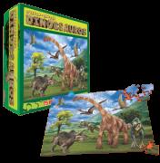 Dinossauros - Quebra- Cabeça/ 75 Peças- Jogo Educativo