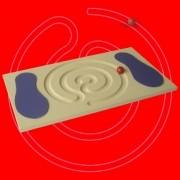 Equilíbrio Espiral - Mdf - Brinquedo Pedagógico Educativo