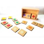 Jogo da Memória com Textura/ Educação inclusiva
