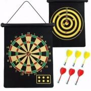 Jogo de dardo magnético - 6 dardos sem ponta
