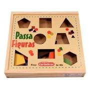 Passa Figuras Geométricas- Estimula A Psicomotricidade