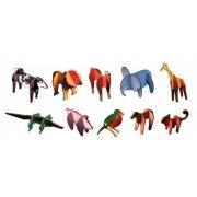 Quebra-Cabeça Vertical De Animais/Estimula A Psicomotricidade