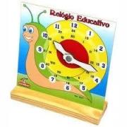Relógio Educativo - Trabalha As Horas E Minutos