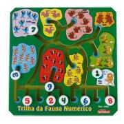 Trilha Da Fauna Numérico - Jogo Matemático Argolas