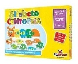 Alfabeto Centopeia - Em Eva - Estimula Letramento E Alfabetização