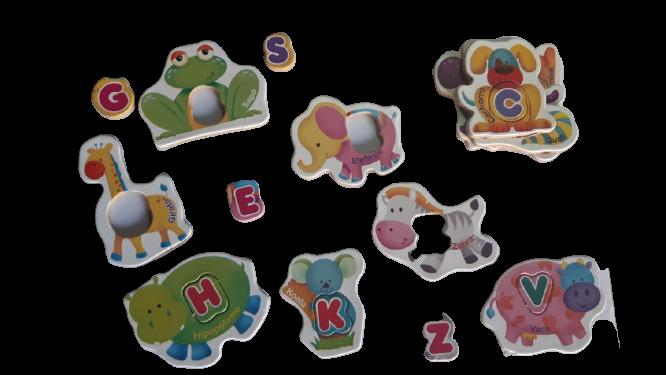 Alfabeto Divertido - Estimula A Alfabetização