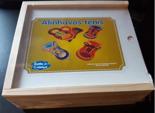 Alinhavos  Tênis/ Estimula Aprendizado De Amarrar O Tênisalinhavos  Tênis/ Estimula Aprendizado De Amarrar O Tênis