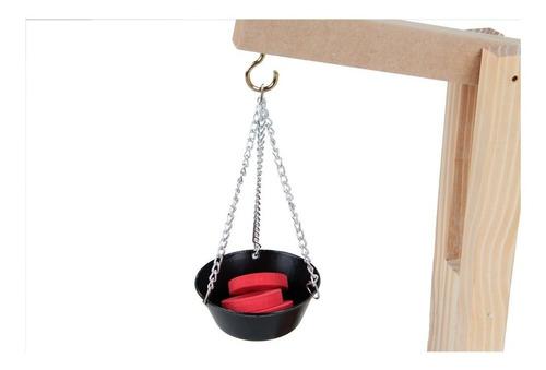Balança de madeira/ trabalha medida masssa