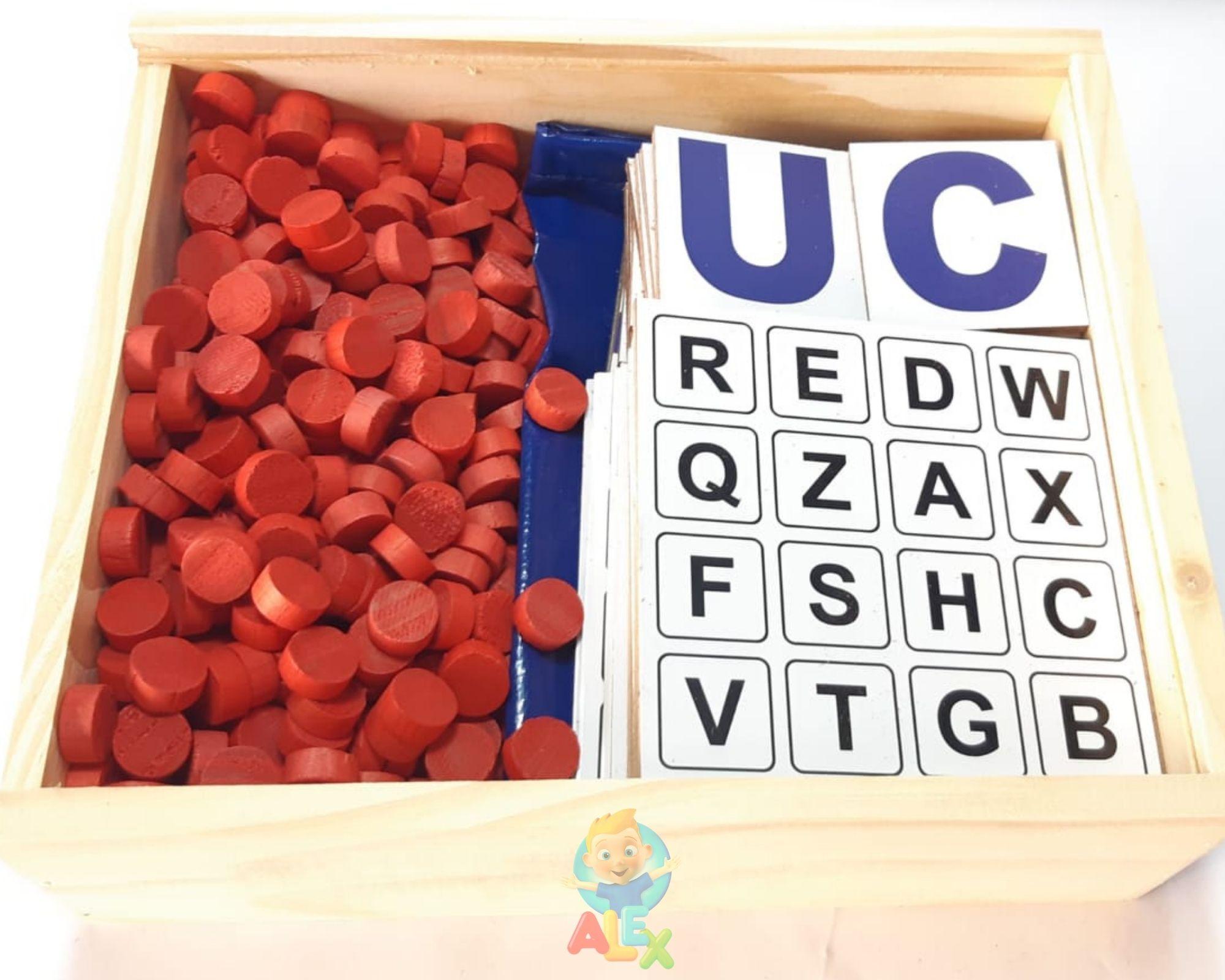 Bingo Do Alfabeto - Alfabetização