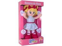 Boneca De Pano - Bia -  A Partir De 18 Meses