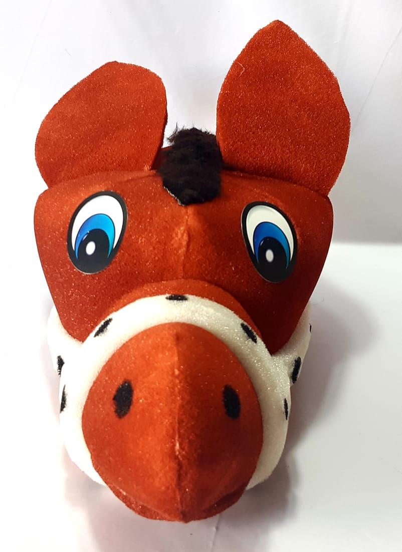 Cavalinho - Chapéu de espuma - Estimula a imaginação