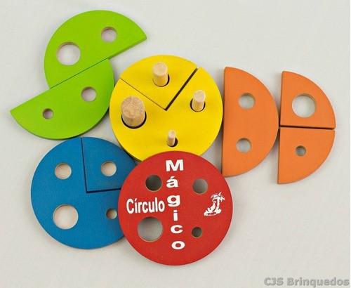 Círculo Mágico - Brinquedo De Encaixe