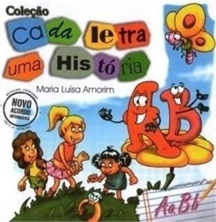 Coleção Infantil : Cada Letra Uma História / 10 Livros