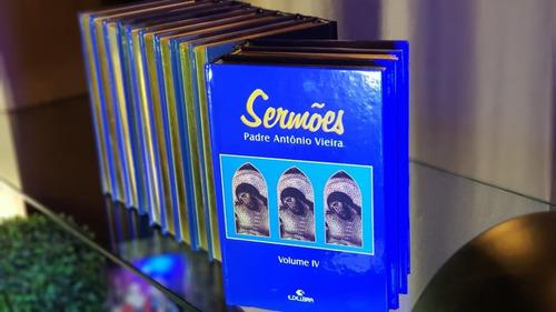 Coleção Sermões Padre Antônio Vieira /12 Vol/ Edelbra/ Nova