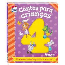 Contos Infantis Para Crianças De 4 Anos - Estímulo A Leitura