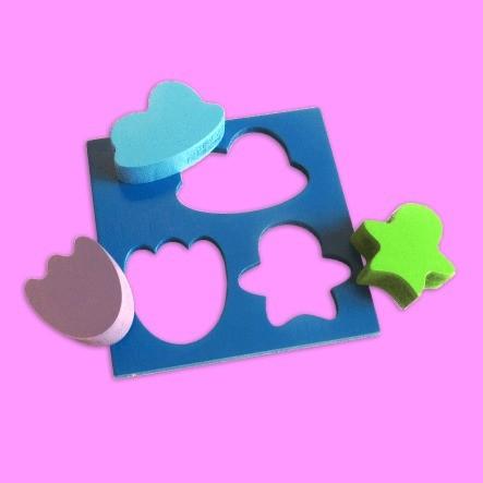 Cubo Forme Imagem - Estimula A Psicomotricidade