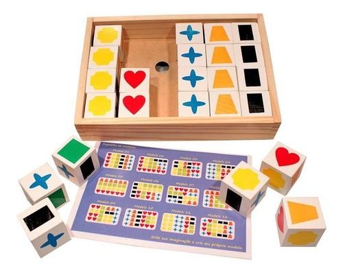 Cubos De Memória - Brinquedo Educativo