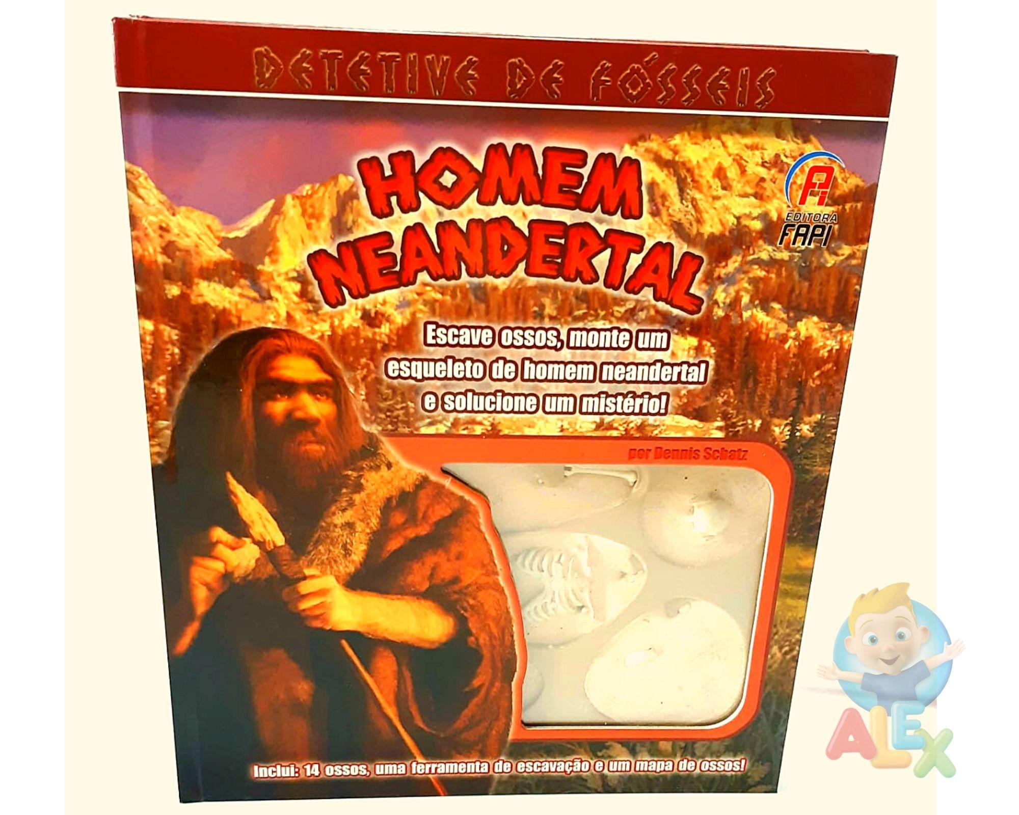 Detetive de fósseis - Homem de Neandertal