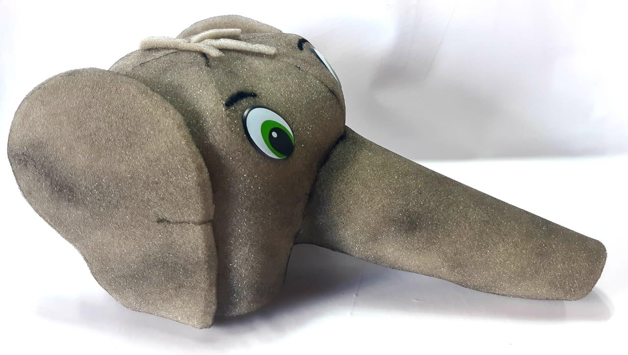 Elefantinho - Chapéu de espuma - Estimula a criatividade