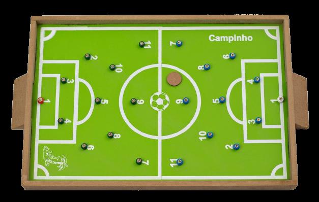 Futebol De Pinos / Futebol De Dedo - Em Madeira