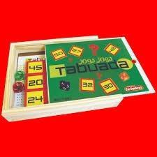 Joga-joga tabuada/ Jogo matemático/ em madeira
