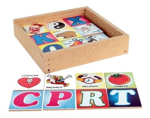 Jogo Da Memória Do Alfabeto De A A Z - Alfabetização